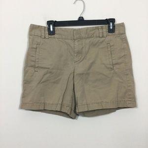 Ann Taylor LOFT Size 6 Brown Khaki Shorts